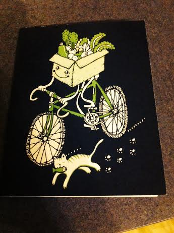 biking and vegetables
