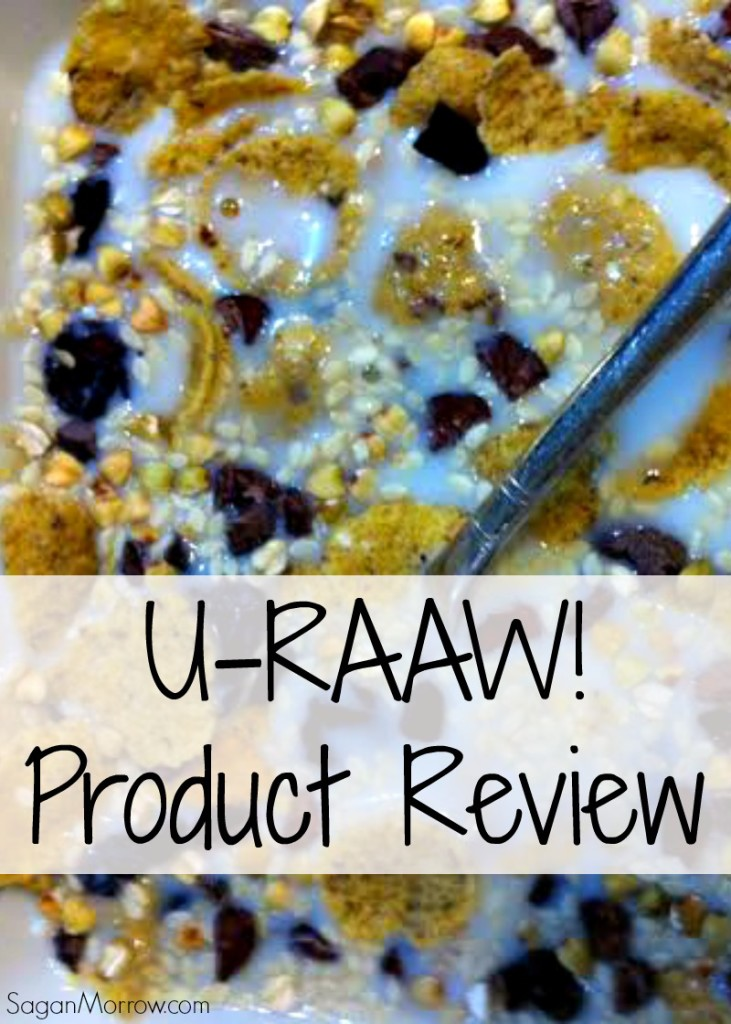 U-RAAW! product review - custom-made healthy raw food snacks in Canada!