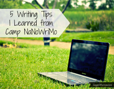 My Experiences with #CampNaNoWriMo
