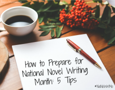 How to Prepare for National Novel Writing Month