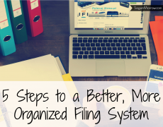 Five Steps to Organizing Your Filing System