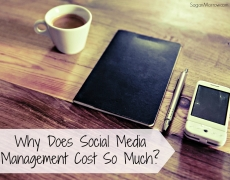 Why does social media management cost so much?