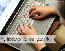 My Freelance Life: One Year Later