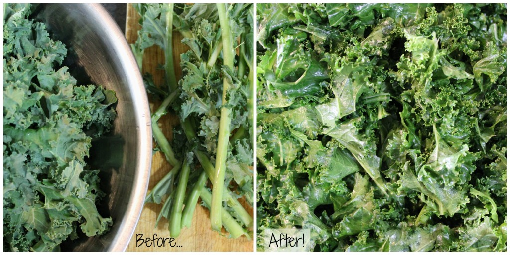 Find out how to massage kale - it's easier than you might think! Plus, a healthy & easy massaged kale salad recipe for you to enjoy.