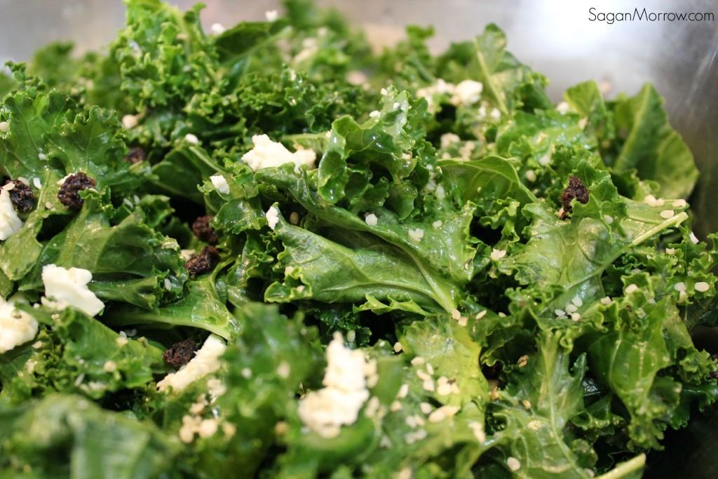 easy healthy kale salad