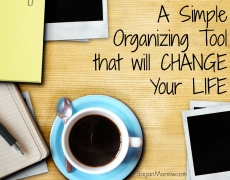1 Simple Organizing Tool that will Change Your Life