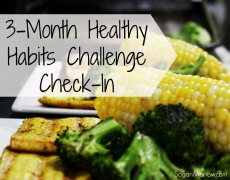 3-Month Healthy Habits Challenge Check-In