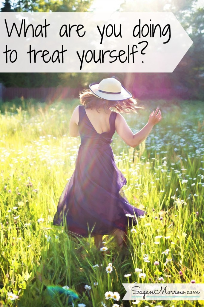 "Treat yourself! Find out why we need to reclaim the word ""treat"" and starting treating ourselves --- right now. Click on this article to find out 5 great ideas for treating yourself! ~ treat yoself ~ treat idea ~ weekend idea"