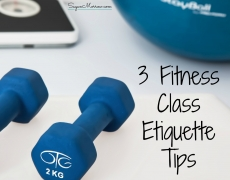 3 Fitness Class Etiquette Tips