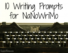 10 Writing Prompts for NaNoWriMo