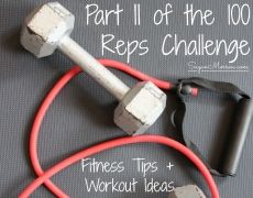 Part II of the 100 Reps Fitness Challenge