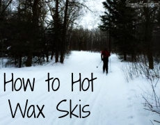 How to Hot Wax Skis