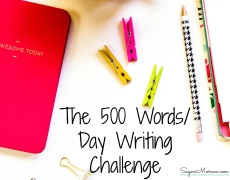 The 500 Words/Day Writing Challenge
