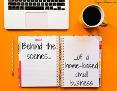 Vlogging: Behind the scenes of a home-based small business