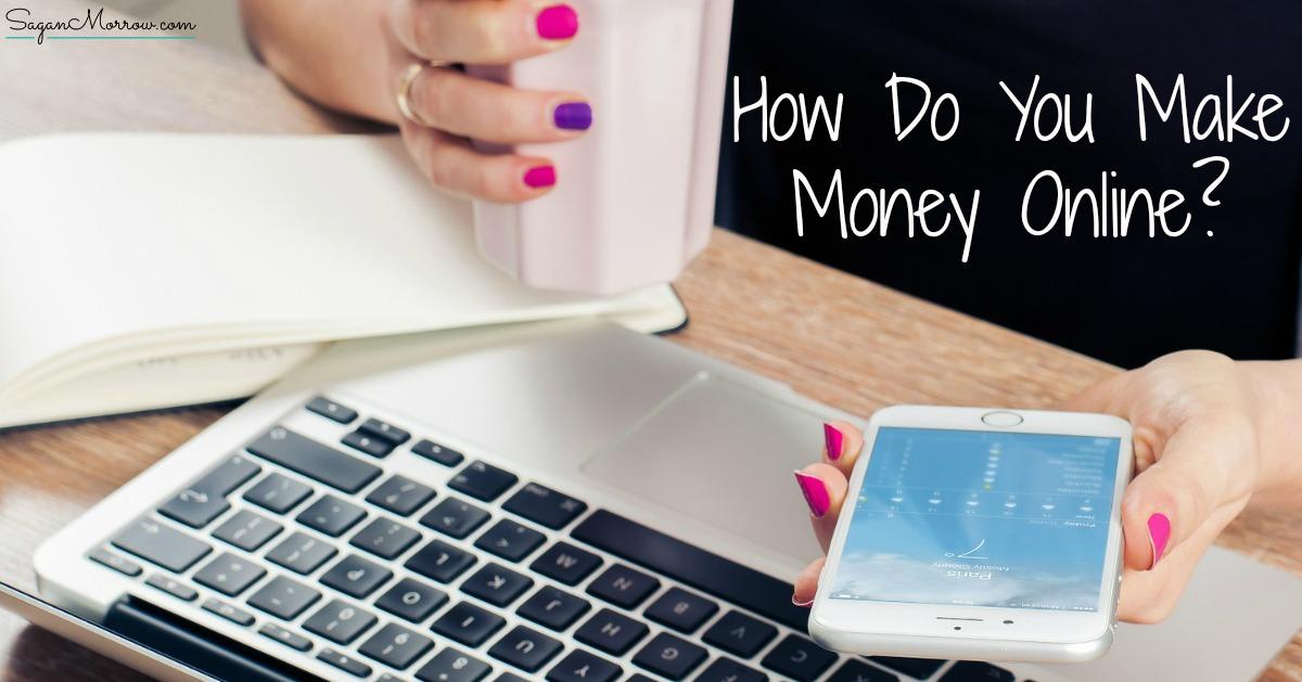 how do you make money online