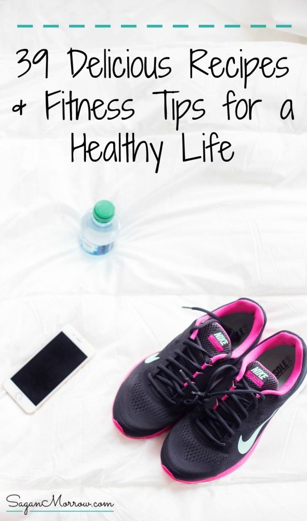 This article features a food & fitness ROUNDUP! Get healthy recipe ideas & fun fitness tips for a healthy life. These healthy recipes and fun workout ideas are simple yet effective -- you're going to love them! Click on over to get access to them now.