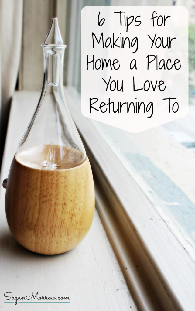 Transform your home into a place you love to come back to at the end of every day! These home ideas & home decor tips will help you create a happy home that fills you with joy. Click on over to get the tips now!