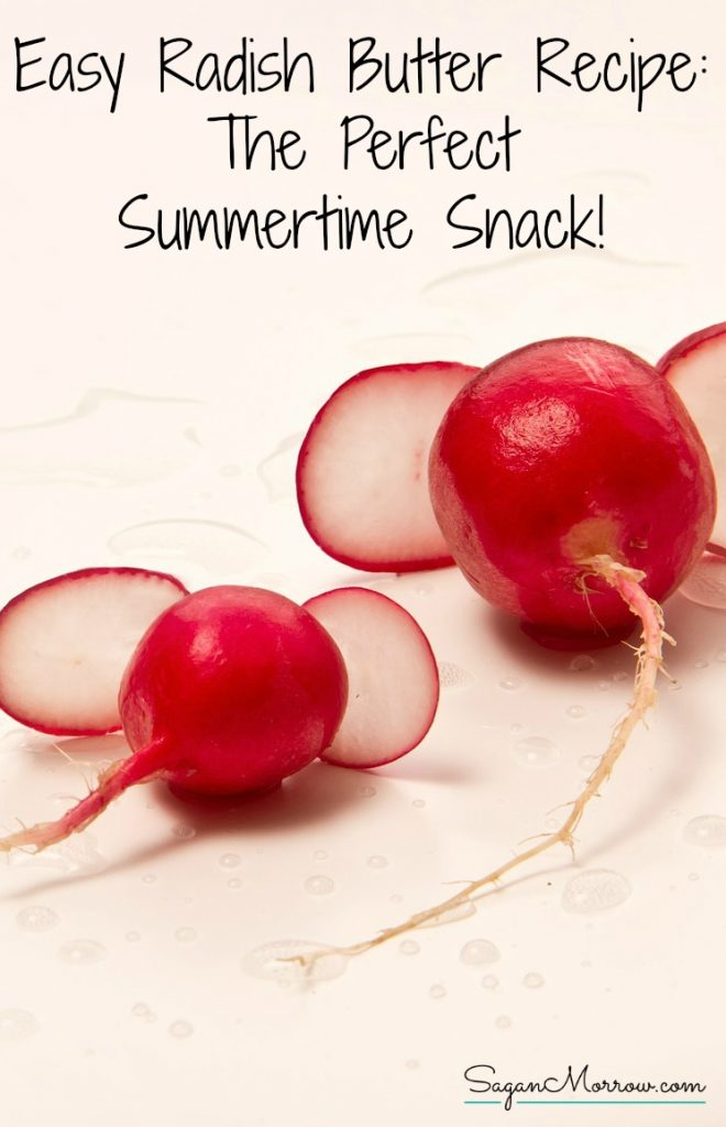 Try this tasty & easy radish butter recipe for your new favorite summertime appetizer! This summer snack is a unique offering for any event, and it's a snap to put together. Click on over to get the easy radish butter recipe idea now!