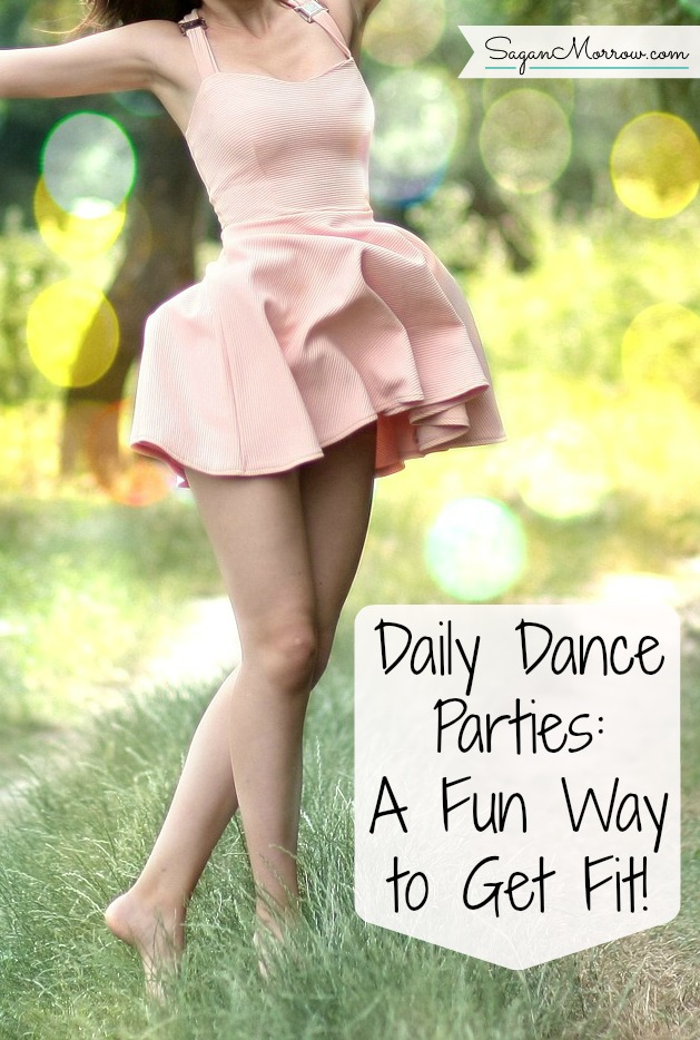 Want to get fit... WITHOUT doing boring or lengthy fitness routines? Try doing daily dance parties! This fun fitness challenge will keep you active and help you get into shape -- and you'll have a great time while you're at it, too! Click on over to get the details