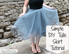 My Experience Making a Tulle Skirt: DIY Tulle Skirt Tutorial