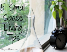 5 Small Space Living Tips