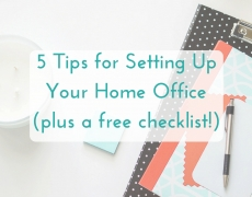 The Ultimate Home Office Checklist