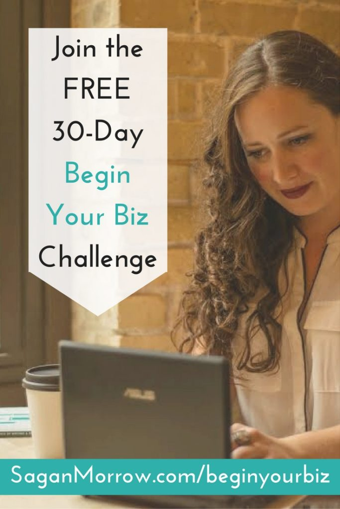 Get started with your freelance business with the FREE 30-day Begin Your Biz Challenge! You'll get daily action steps, access to a private Facebook group with prompts, opportunities to win giveaways and more! Finally start your freelance business -- click on over to find out how to sign up now