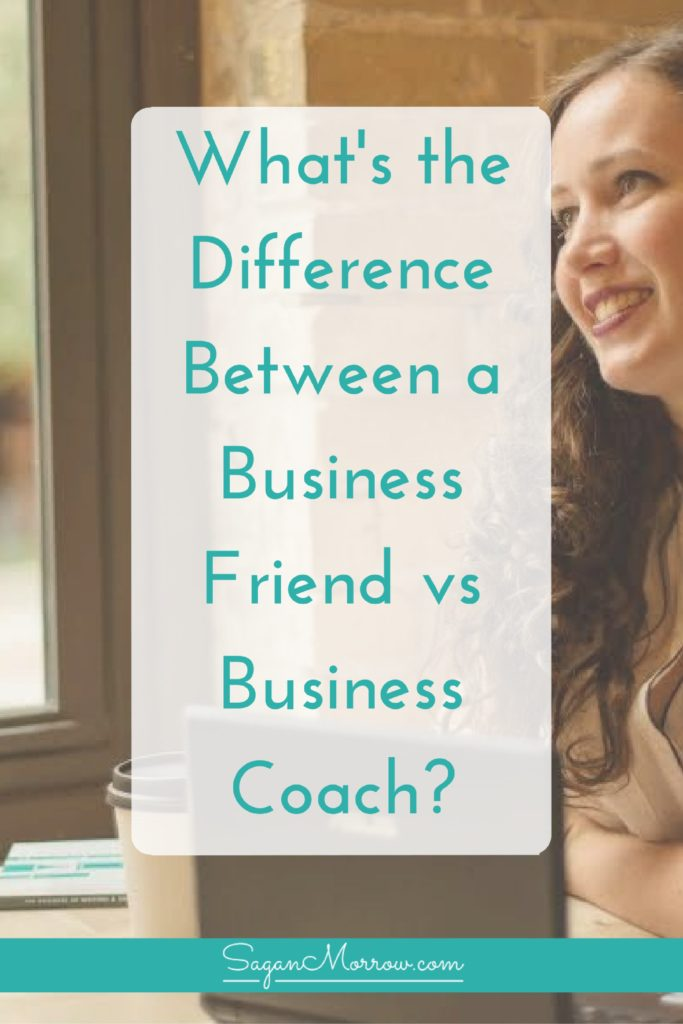 Not sure if you need a business friend vs business coach? Learn the difference between a business friend and business coach, and how to figure out if (and when!) you need a freelance business coach for your small business. Click on over to learn all about it now!
