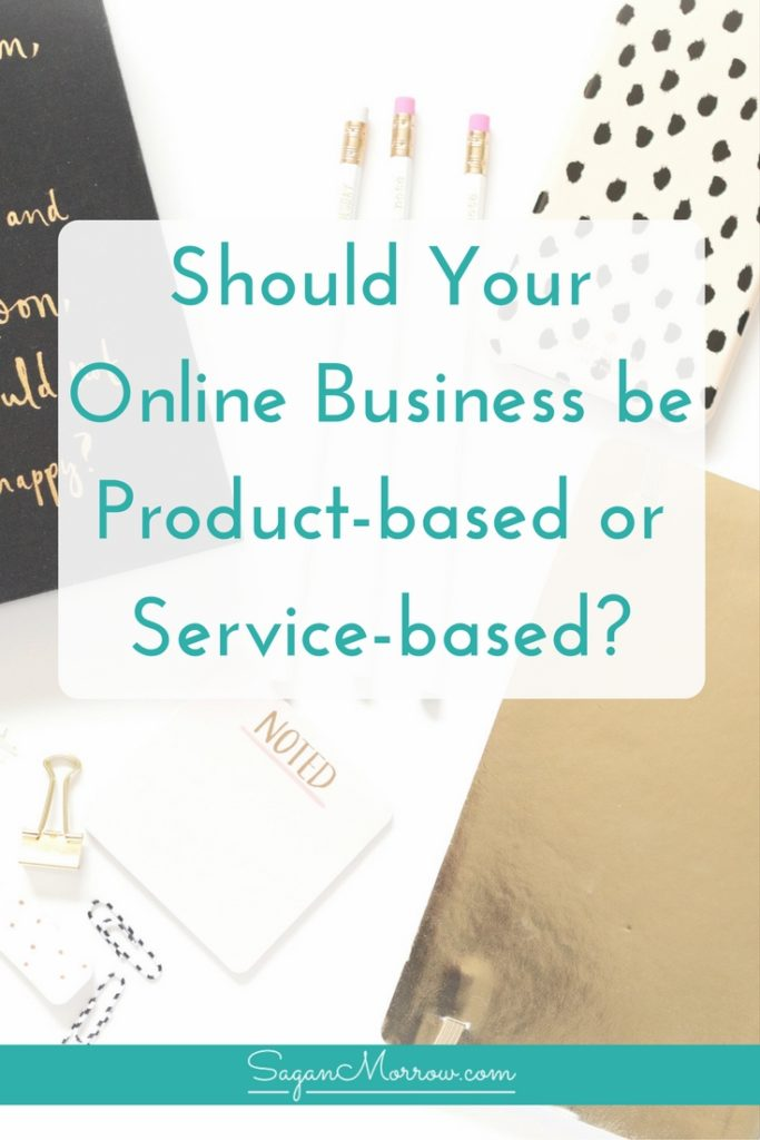 Find out the pros & cons of product-based vs service-based business! Not sure if your online business should be product-based or service-based? Get all the details on it (plus what to do next for your business!) in this article.