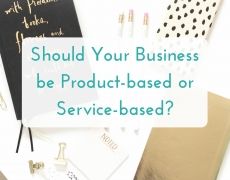Should your business be product-based or service-based?