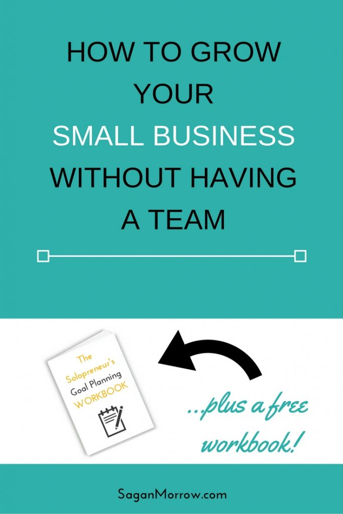 Find out how to grow your small business even if you don't have a team! You really can have a successful business without a bunch of employees. Learn how to grow your solopreneur business in this article