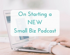 On Starting a New Small Business Podcast