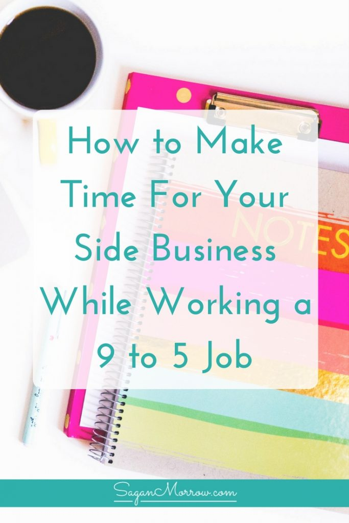 Are youworking full-time and running a small business on the side? Feeling as though you have ZERO time to make it work? Getting overwhelmed with it all? Use these 5 tips to make managing your side business that much easier... even if you have a hectic full-time job!