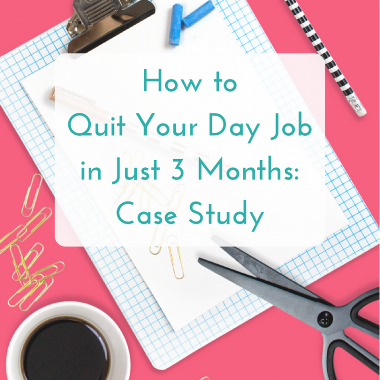 how to quit your day job