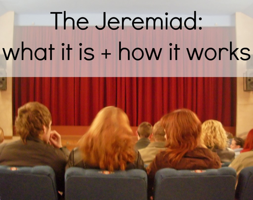 What is the Jeremiad