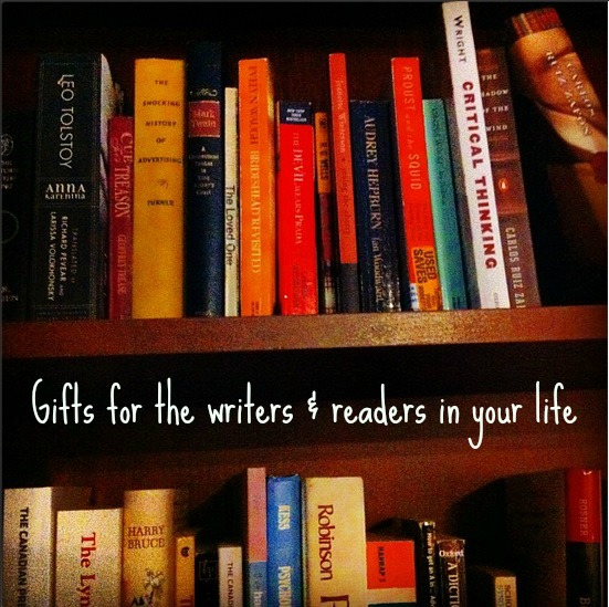 gifts for the writers and readers in your life
