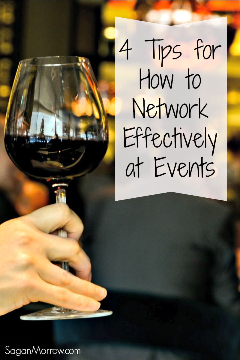 learn how to network effectively at events in 3 steps plus a bonus tip