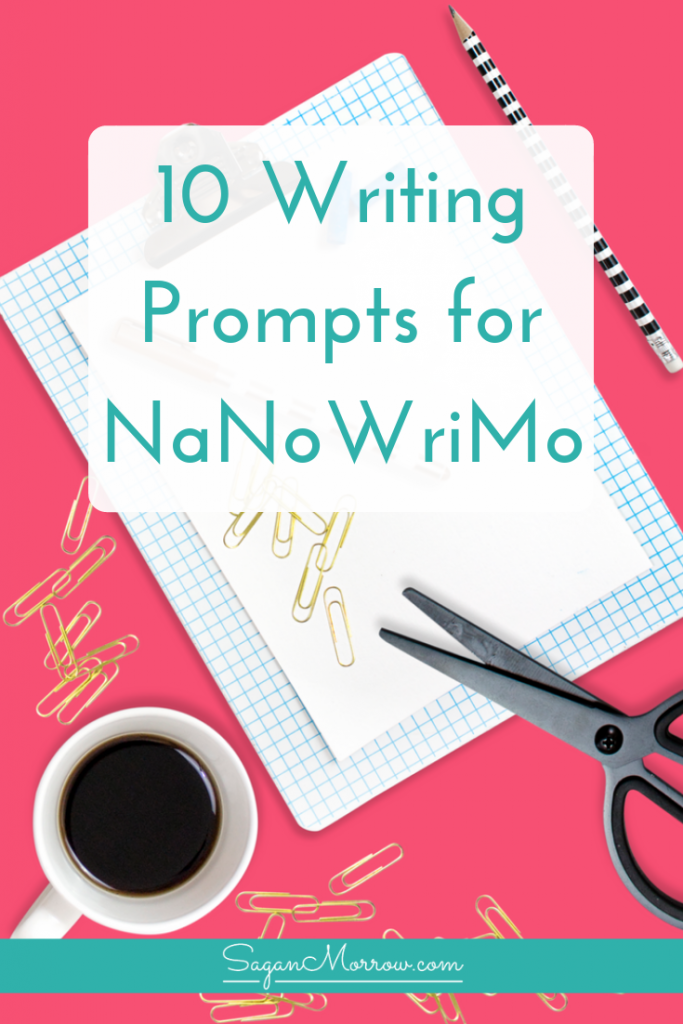 Succeed at National Novel Writing Month with these writing tips! This article features 10 writing prompts for NaNoWriMo, or for any time you need a little extra boost for character development and story ideas. ~ NaNoWriMo ideas ~ best writing prompts ~ novel writing ideas ~ story writing prompts ~