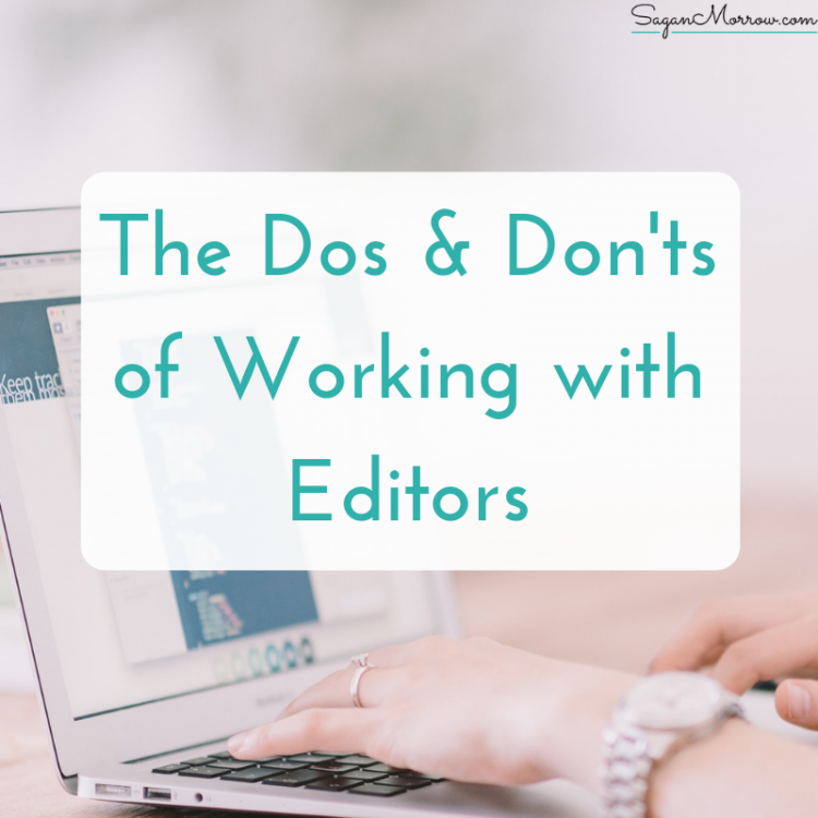 dos & don'ts of working with editors