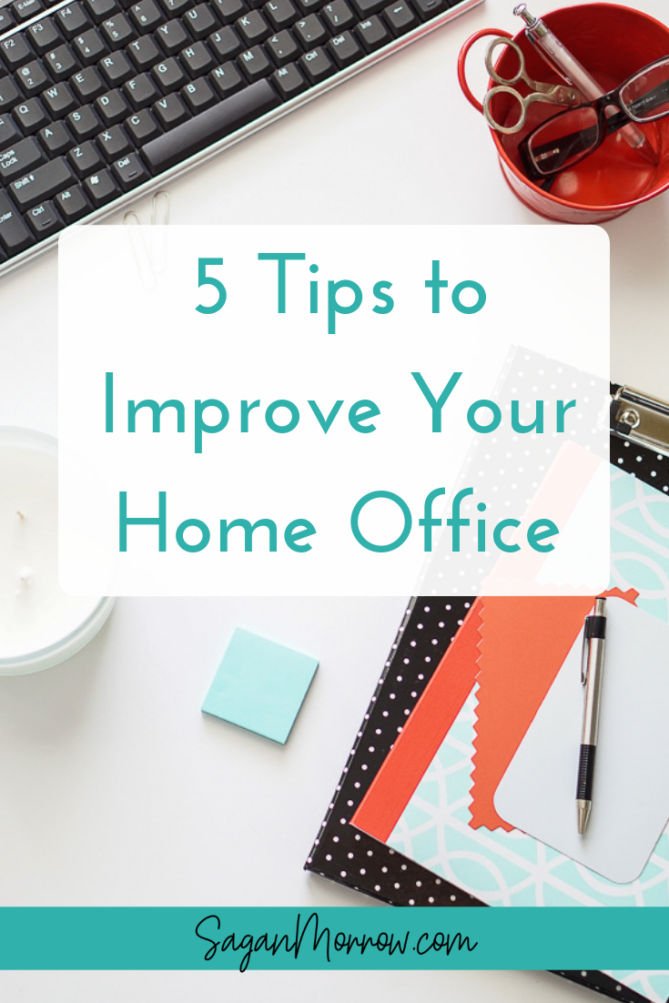 Work from home? Make your home office so good that you'll never want to leave! These home office improvement tips will help you to be more inspired, productive, and creative when you work from home. Click to read now or Pin for later! ::: freelancing tips ::: home office tips ::: home office ideas ::: home office decor :::