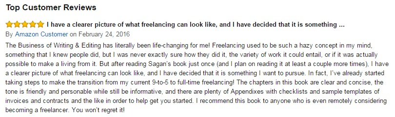 freelance business book review