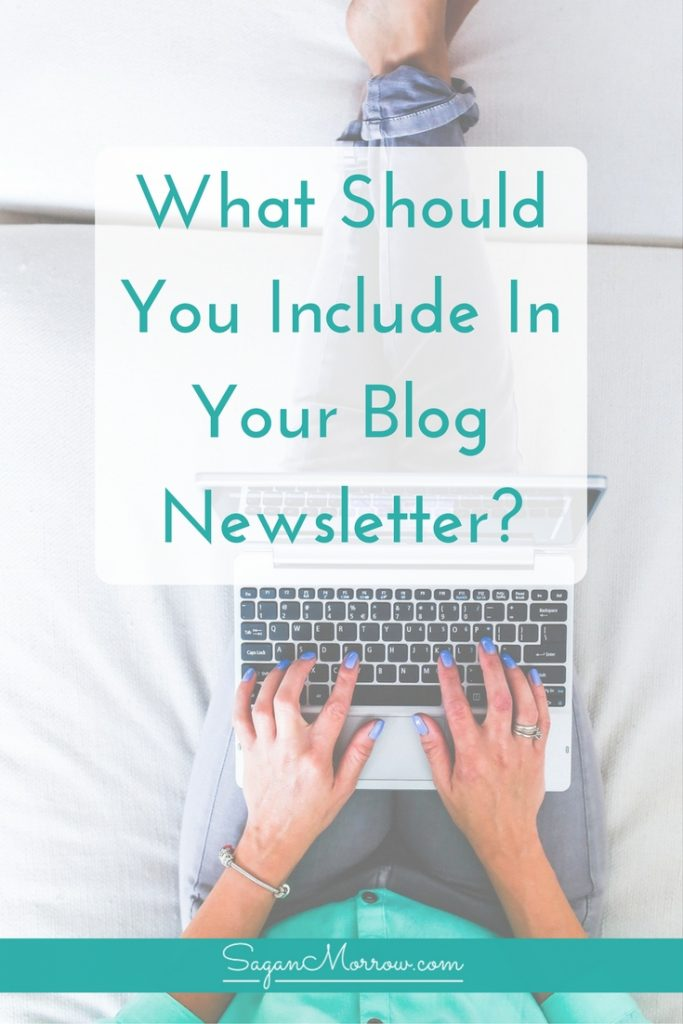 Get blog newsletter ideas in this article featuring tips on what to include in your blog newsletter! These blog newsletter tips will help you figure out what to send people once you've got them on your list. It's not enough to just collect email addresses -- you have to actually make use of them! Click on over for the blogging tips + email list tips now.