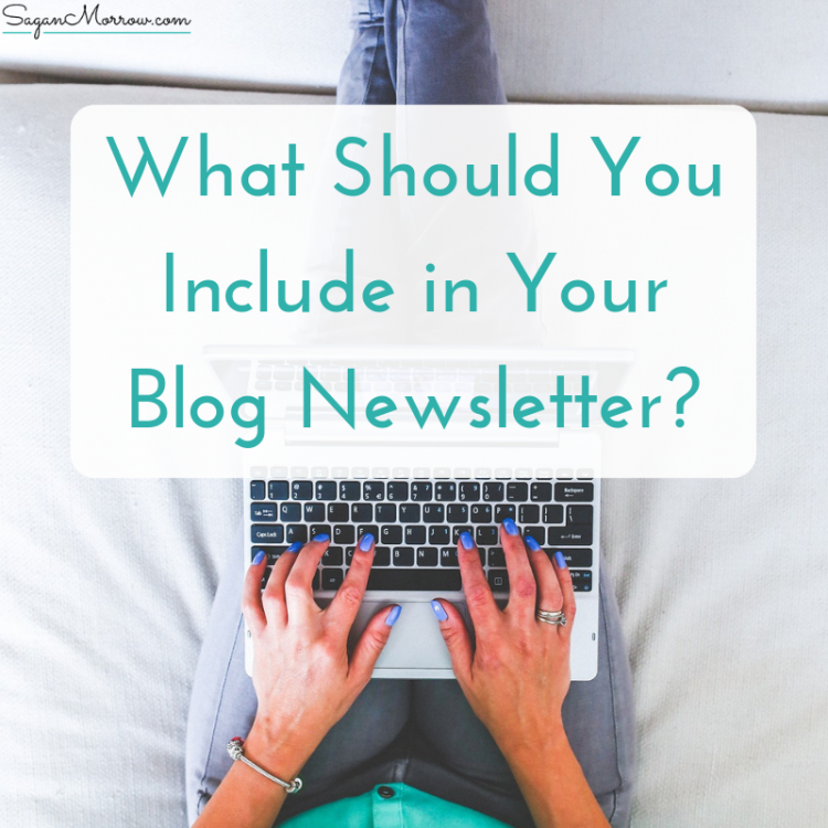 blog newsletter ideas
