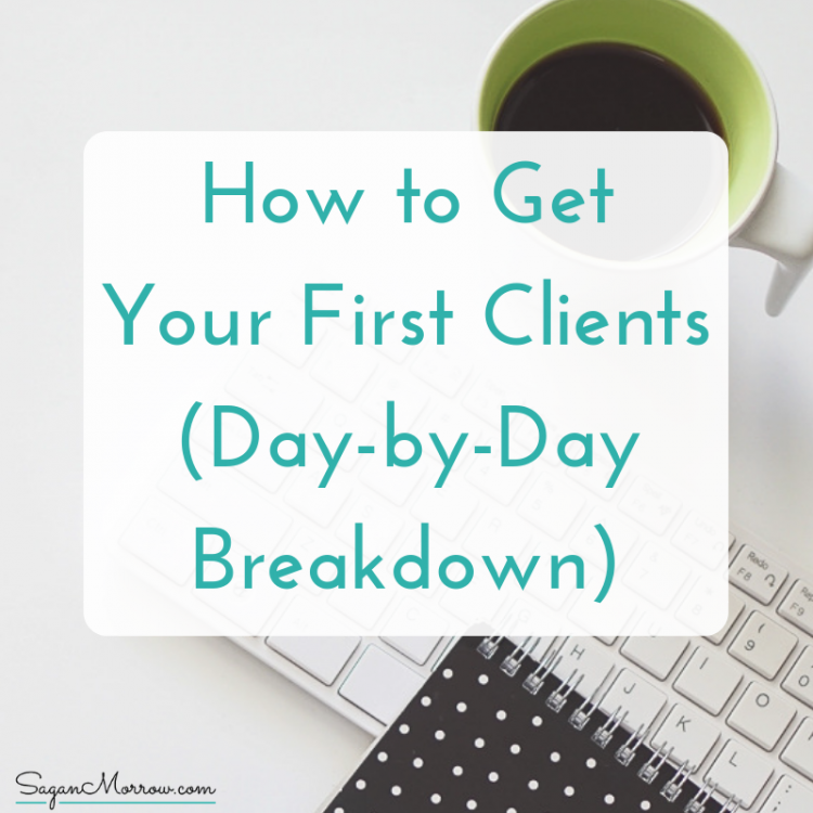 how to get your first clients