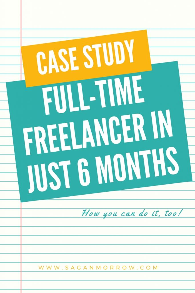 Want to start freelancing full-time? Find out what Elizabeth did to become a full-time freelancer in only 6 months (after starting from the ground level!) in this article -- click on over to get the goods! ::: freelance tips :: freelancing tips :: full-time freelancing :: work from home full-time