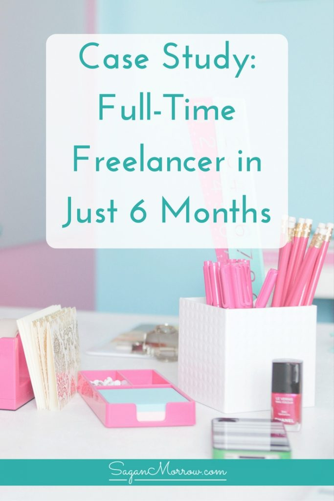 Find out how Elizabeth became a full-time freelancer -- within just 6 months! Learn what she did to make this happen, and how YOU can freelance full-time too. Click on over to get the new freelancer tips now!