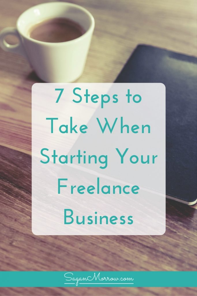 Not sure where to start with your freelance business? Find out 7 steps to take when starting your freelance business (especially if you quit your job WITHOUT planning ahead!). Click on over to get the freelance tips / business tips now and start your awesome home-based business!