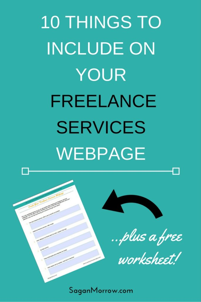 Not sure what to include on your freelance services website? Don't panic! In this article, you'll get 10 tips for what to include on your freelance website... plus additional tips AND a free downloadable worksheet for creating your freelance services webpage. Click on over to get the goods now!