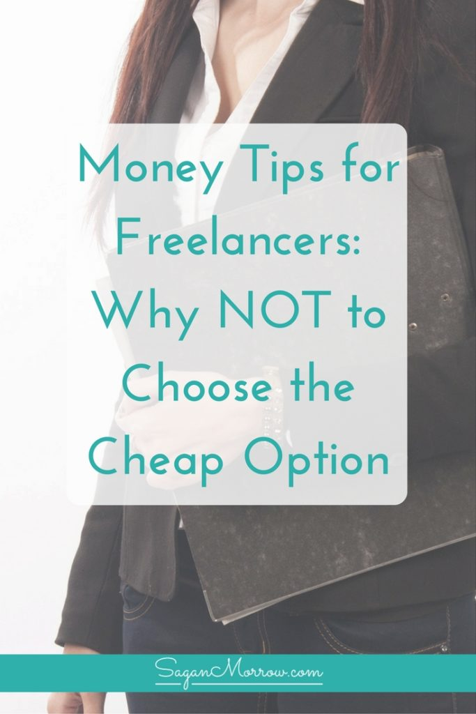 Get money tips for freelancers in this article featuring 3 steps to identifying whether or not you should make that purchase for your business. Discover why choosing the cheap or free option isn't always the best idea... and what to do instead! Click on over to get freelance business tips now.