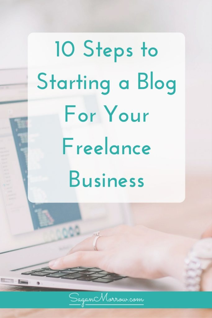Should freelancers blog? Get tips for starting a blog for your freelance business -- you can get started today with these 10 steps to starting a blog! Click on over for tips on blogging for business and what you need to do if you are thinking about starting a blog for your freelance business.